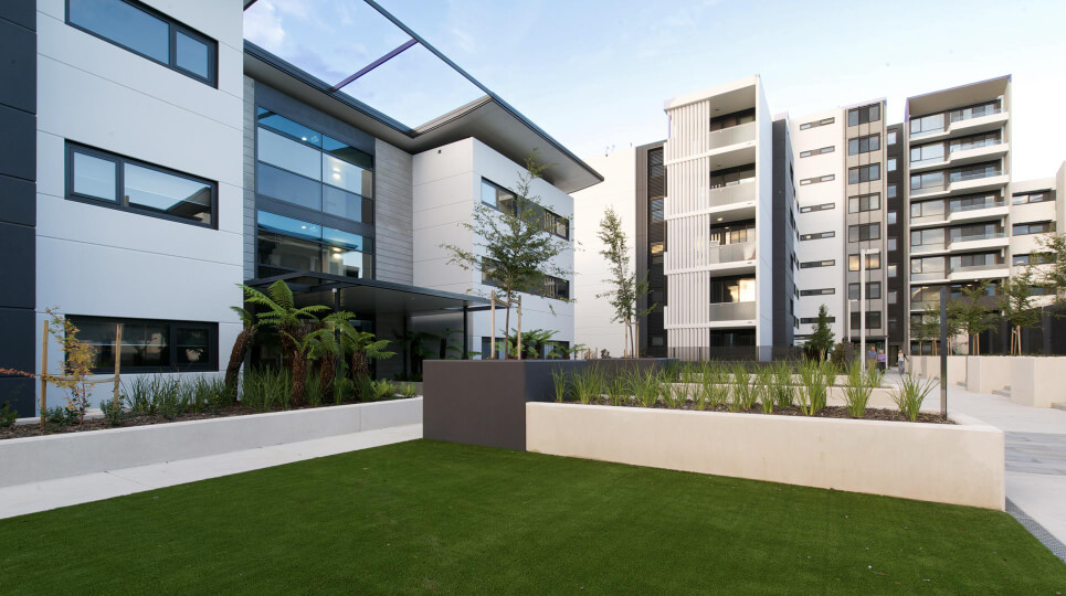sub-contractor-apartment-landscaping-canberra photo