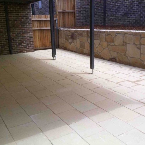 Residential Paving Canberra Photo