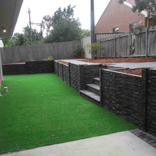 Residential Retaining Wall Canberra Photo